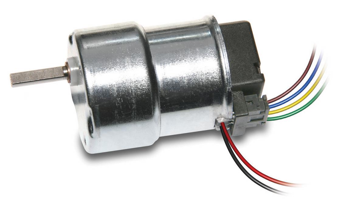 MicroMotors BS138FDC-Motor mit Stirnradgetriebe