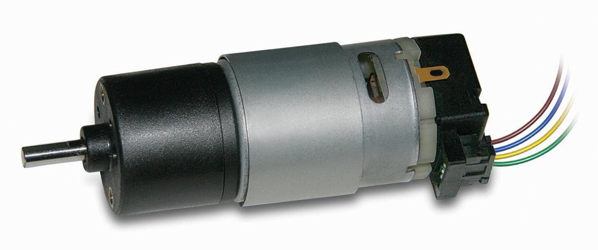 HL149 / HV155 MicroMotors mit Sechs-Poligem Hall-Sensor