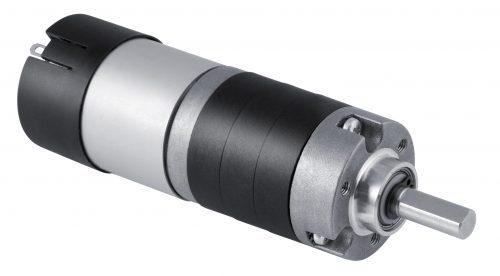 MicroMotors PS150 mit Planetengetriebe