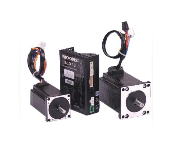 MOONS BLDC NEMA23 mit externer Elektronik High End DC Brushless MOONS BLDC MOTOR NEMA23