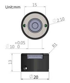 MS8HY-Hybridschrittmotor Encoder