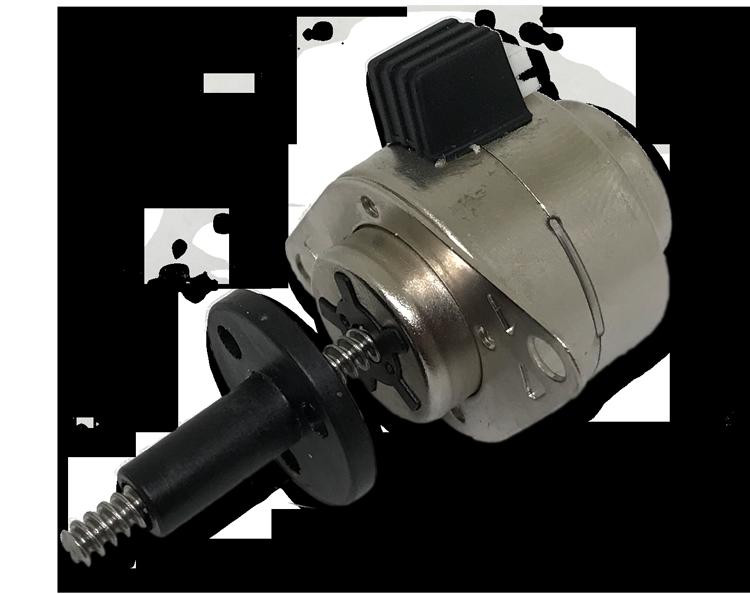 PM Schrittmotor Linearaktuatormit externer Mutter D 25mm spielarm