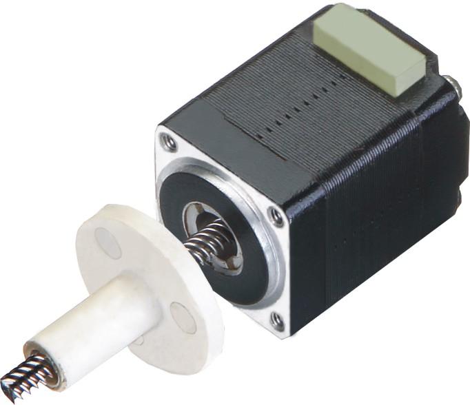 Hybrid Schrittmotor Linearaktuator Nema 8 externe Mutter