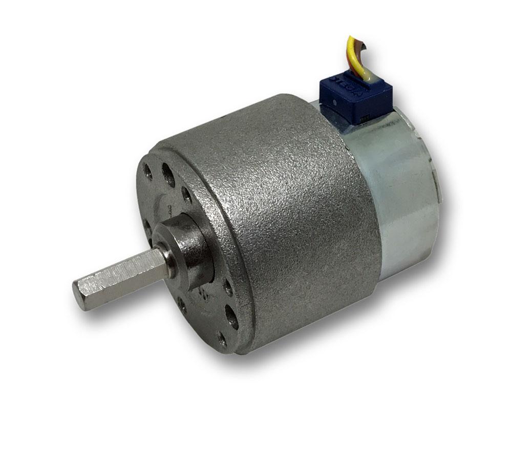 35mm PM Schrittmotor mit RH-Getriebe MicroMotors