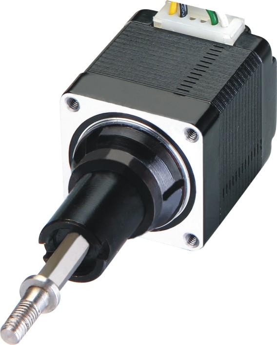 Hybrid Schrittmotor Linearaktuator Nema 8 captive Version