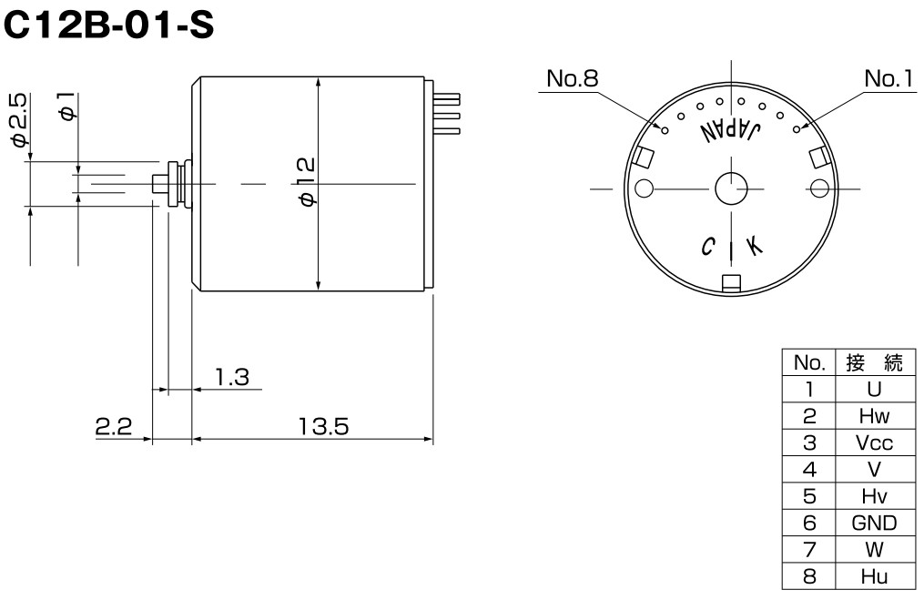 C12B-BLDC Motor C.I. Takiron color-technik Antriebstechnik GmbH