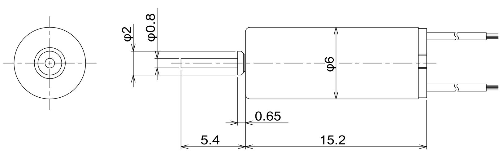 C.I. Takiron A6mm Motor CI.Takiron